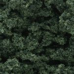 WFC137 Woodland Scenics: Underbrush - Dark Green (18 cu. in. bag)